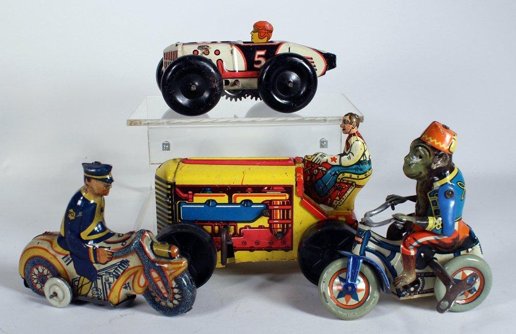 Arnold German Trike & Marx Tin Toys