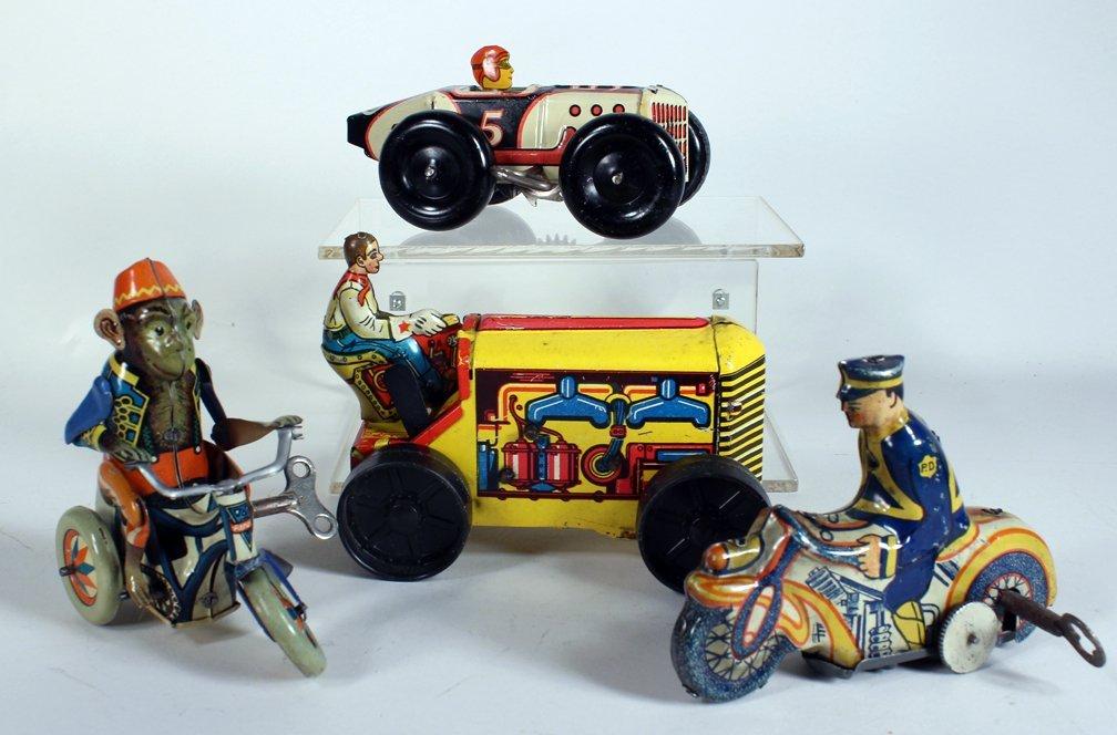 Arnold German Trike & Marx Tin Toys - 2