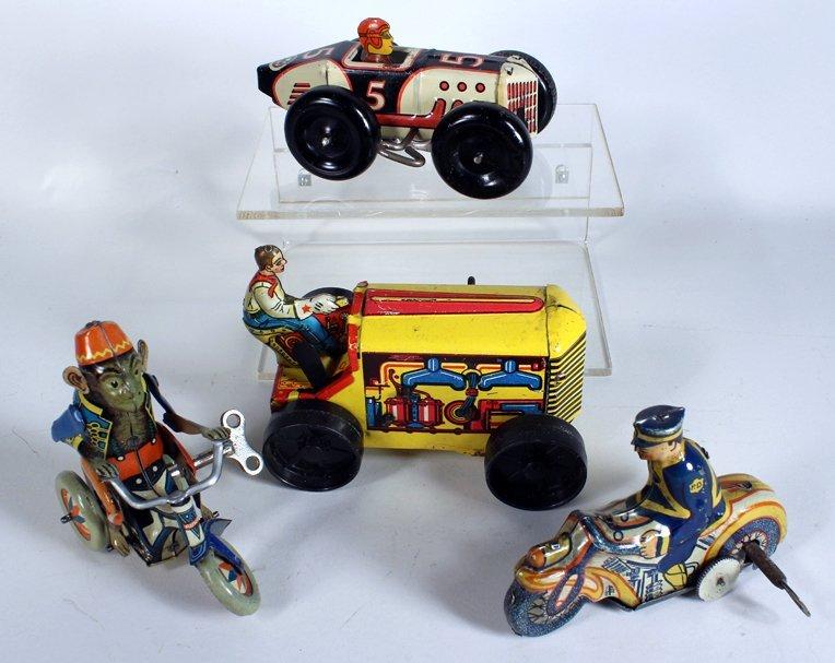 Arnold German Trike & Marx Tin Toys - 3