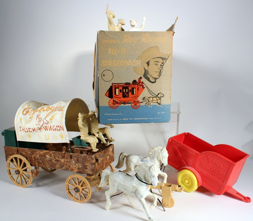 Ideal Roy Royers Fix It Stagecoach &Chuck Wagon - 2