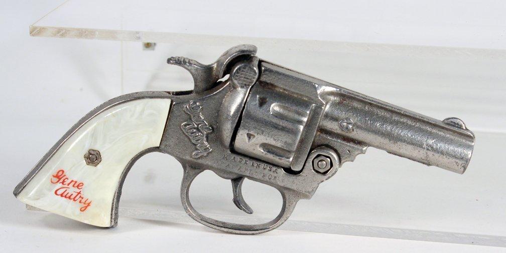 Gene Autry Cowboy Cap Gun Pistol