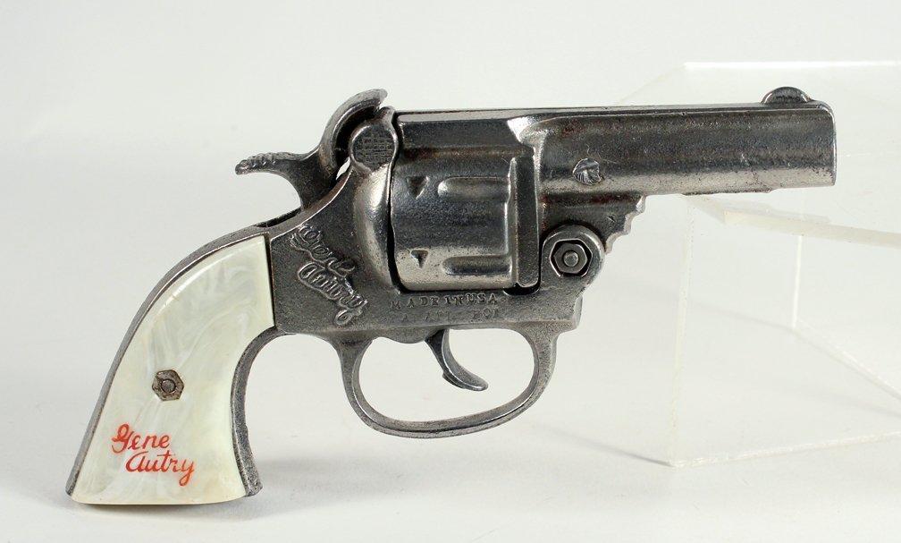 Gene Autry Cowboy Cap Gun Pistol - 4
