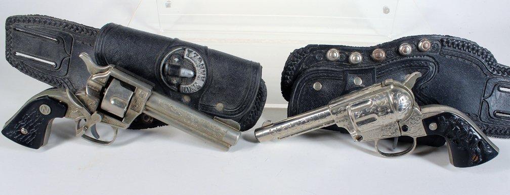 Nichols Stallion 32 & Silver Colt Cap Gun & Lone Ranger