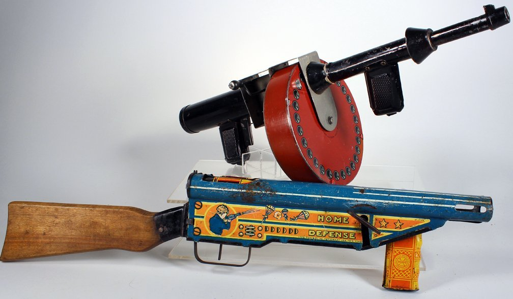 Marx Home Defense and G-Man Tommy Gun - 2
