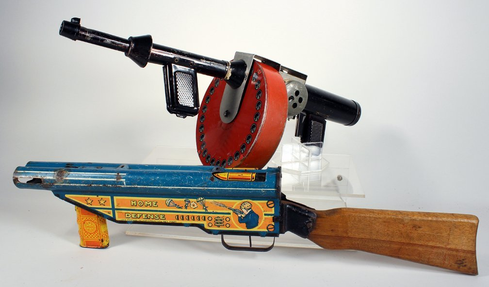 Marx Home Defense and G-Man Tommy Gun - 3