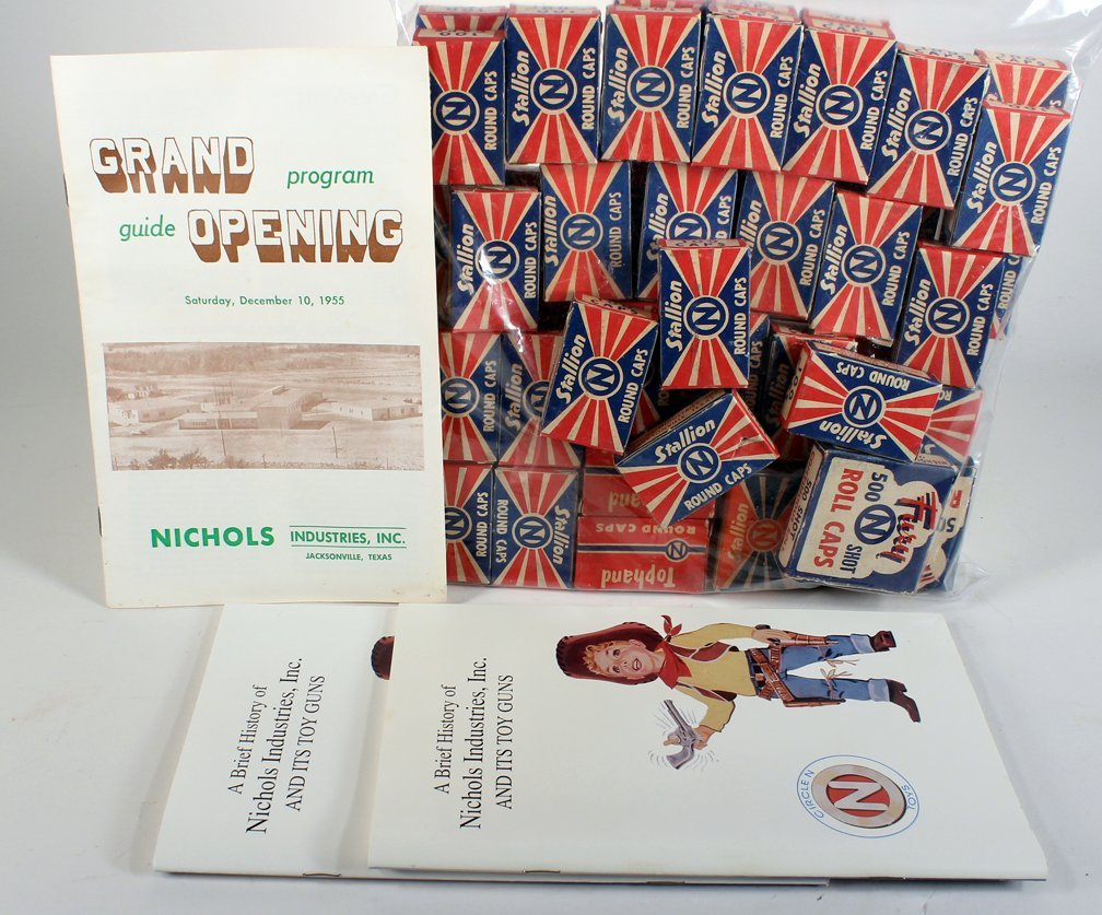 Nichols Roll Caps Mint& Company Grand Opening Ephemera