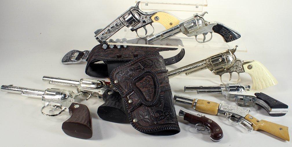 8 Cap Gun Collection Nichols & Others