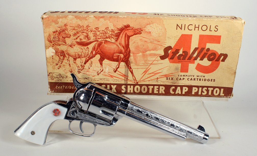 Nichols 45 Stallion 6 Shooter in Box