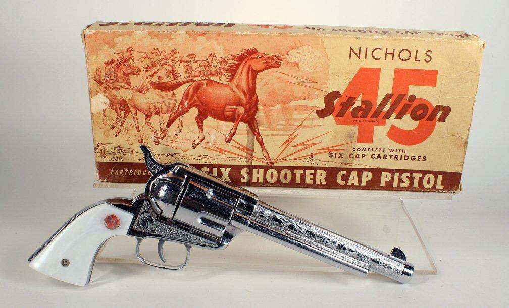 Nichols 45 Stallion 6 Shooter in Box