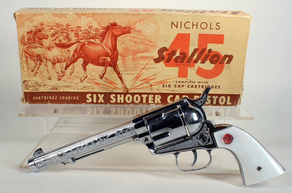 Nichols 45 Stallion 6 Shooter in Box - 2