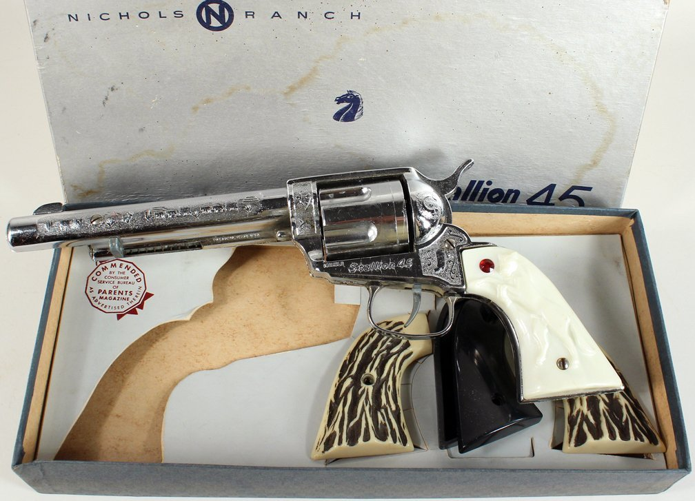 Nichols Ranch Stallion 45 in Box with Grips - 2