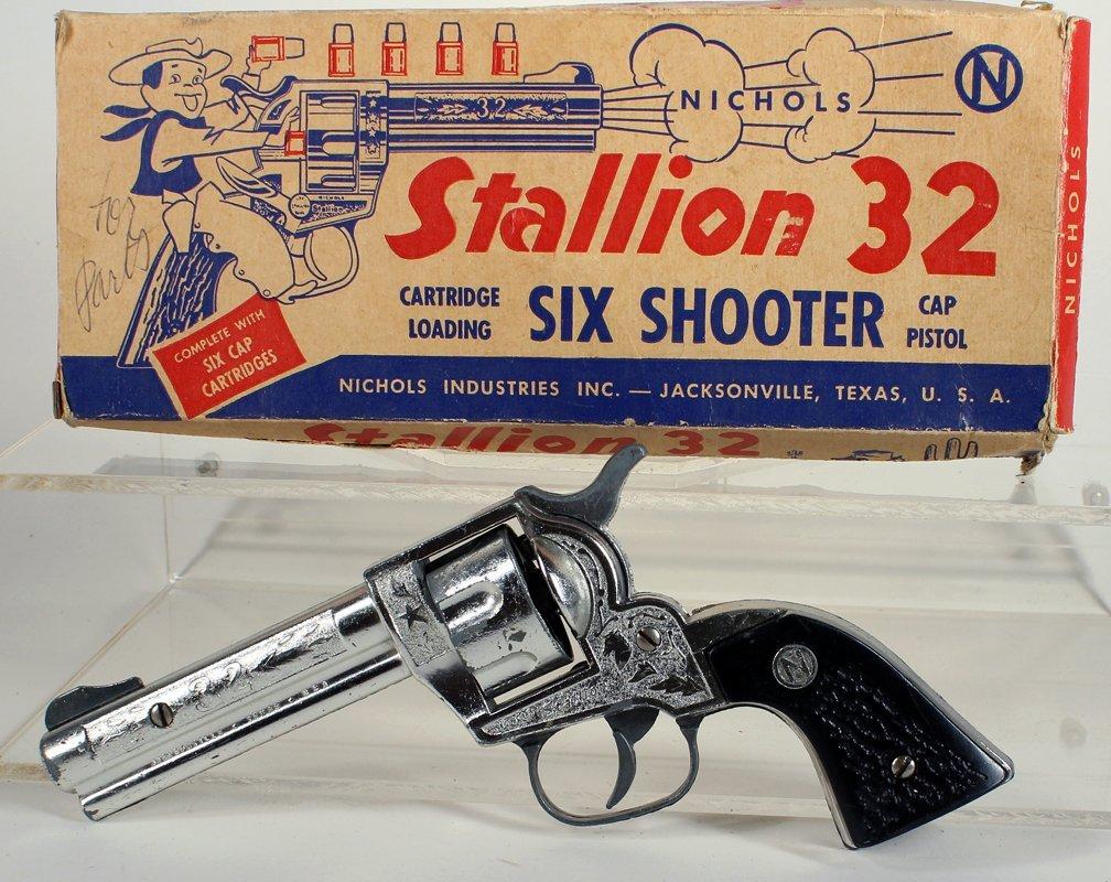 Nichols Cap Gun Stallion 32 In Box