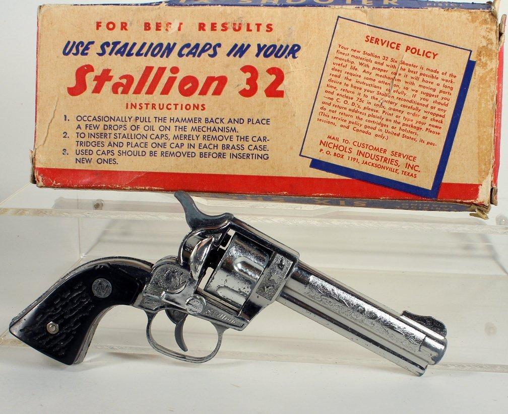 Nichols Cap Gun Stallion 32 In Box - 2