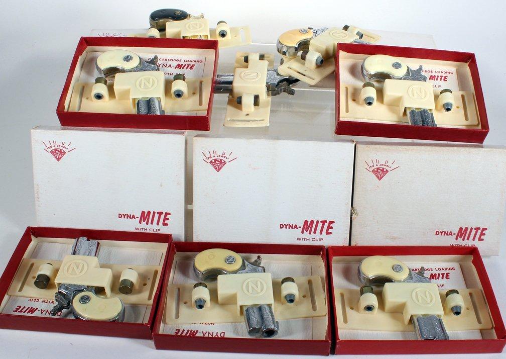 7 Nichols Dyna-Mite Derringers 5 Mint in Box - 2