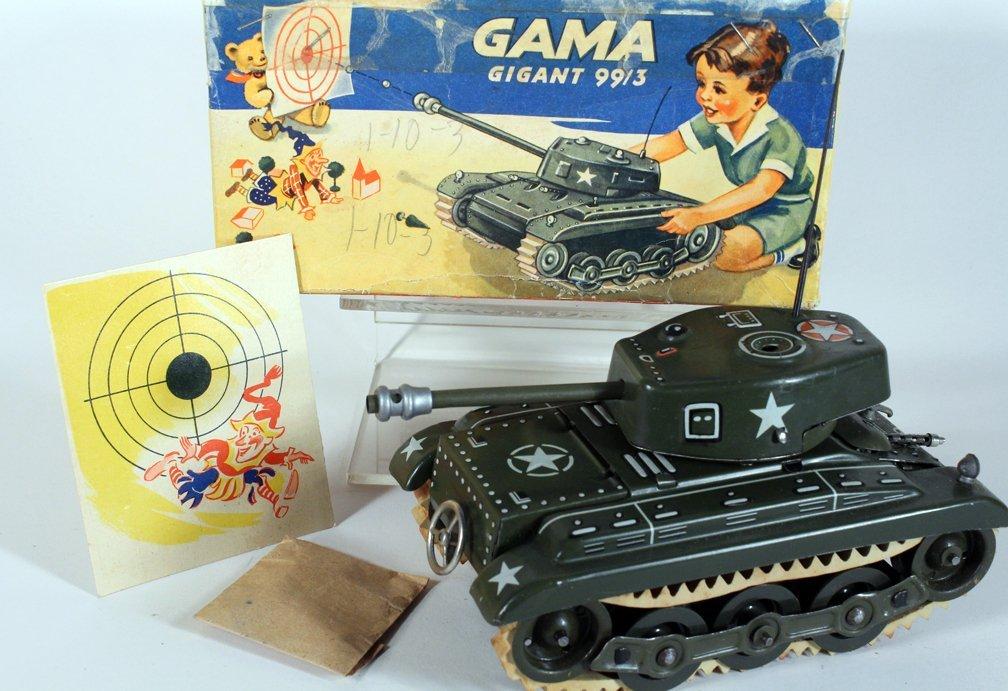 Gama German Tin Tank in Box - 2