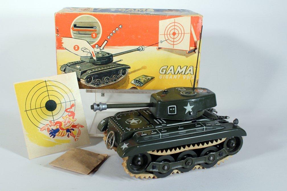 Gama German Tin Tank in Box - 3