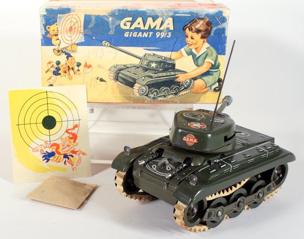 Gama German Tin Tank in Box - 4