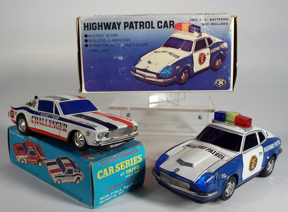 Japan Tin Boxed Dodge Challenger & MT Highway Patrol - 2