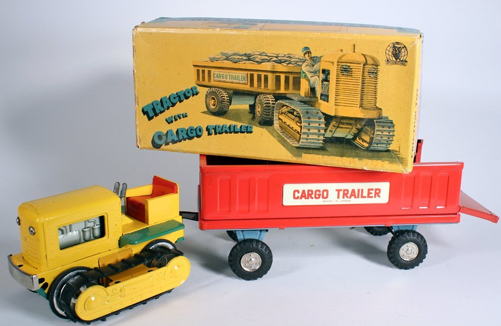 Japan Boxed Tractor and Cargo Trailer SSS