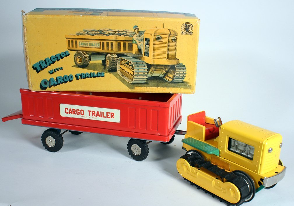 Japan Boxed Tractor and Cargo Trailer SSS - 2