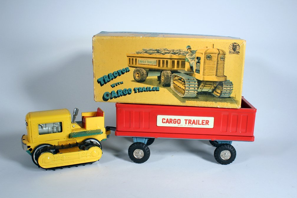 Japan Boxed Tractor and Cargo Trailer SSS - 3