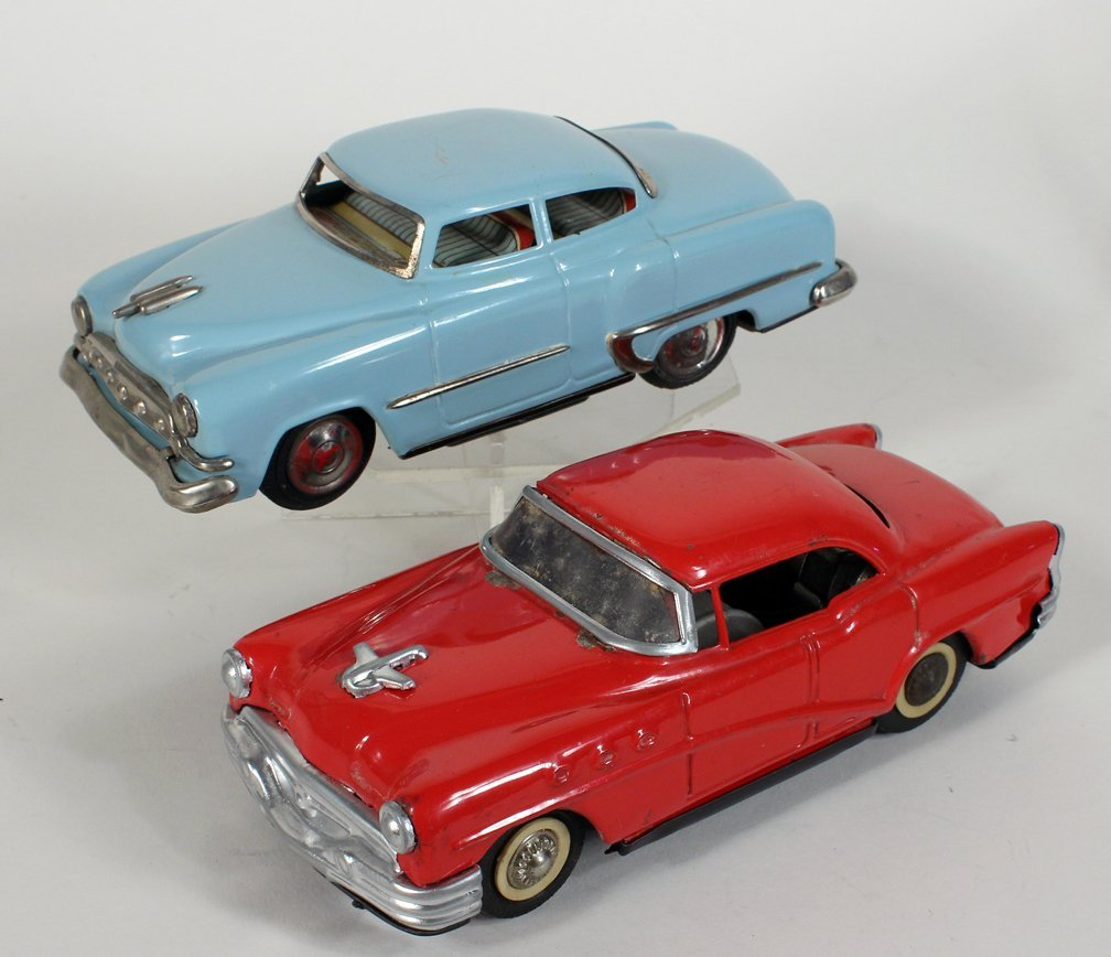 2 Japan Tin Cars TN Buick Skylark and Chevy