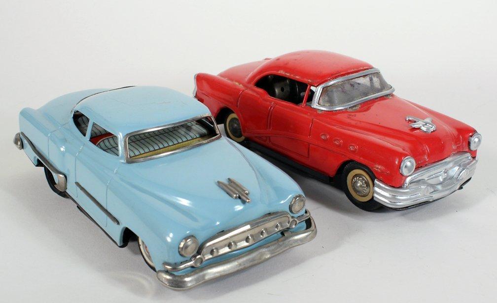 2 Japan Tin Cars TN Buick Skylark and Chevy - 2