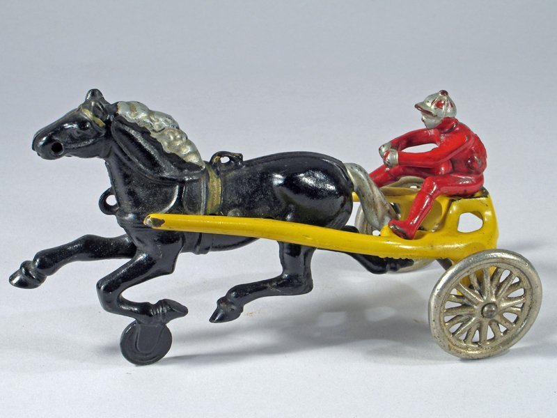 Kenton Horse Drawn Cast Iron Sulky Racer