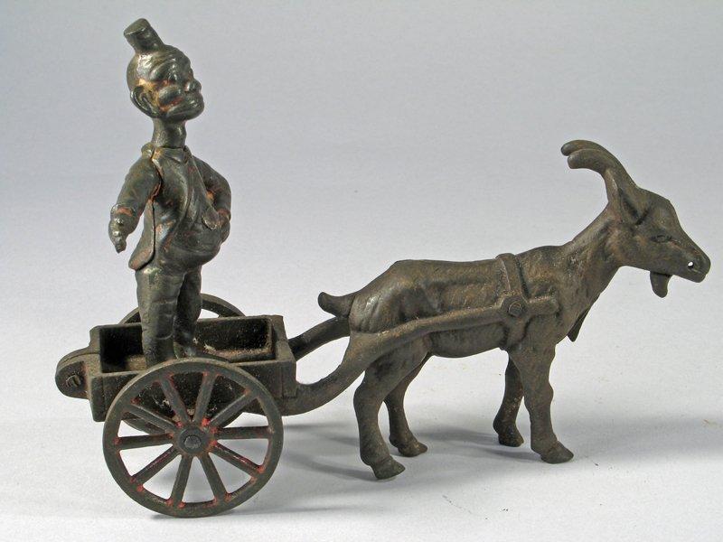 Happy Hooligan Cast Iron Billy Goat Cart - 2