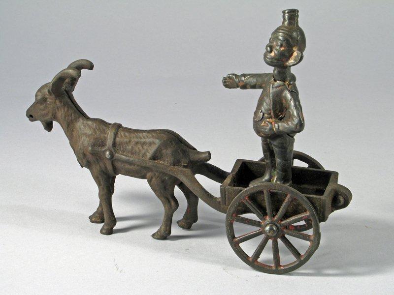 Happy Hooligan Cast Iron Billy Goat Cart - 3