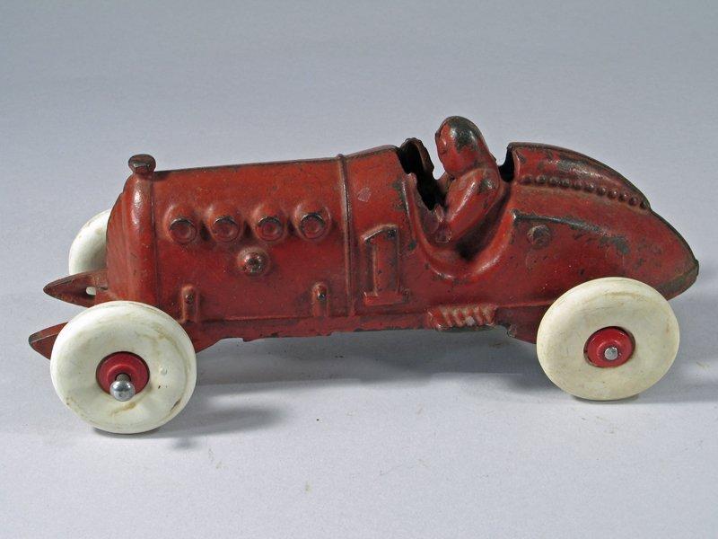 Hubley Cast Iron Racer