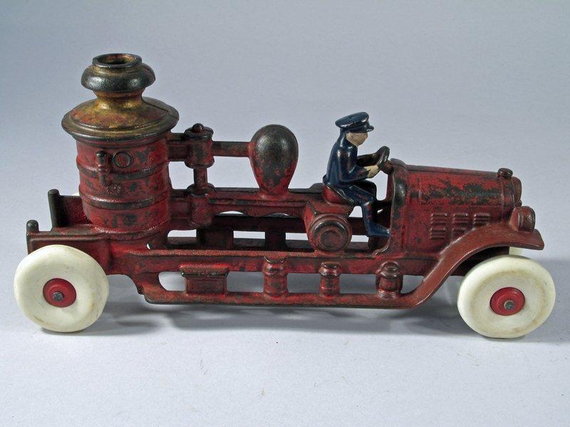Kenton Cast Iron Pumper Truck - 2