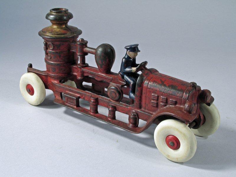 Kenton Cast Iron Pumper Truck - 3