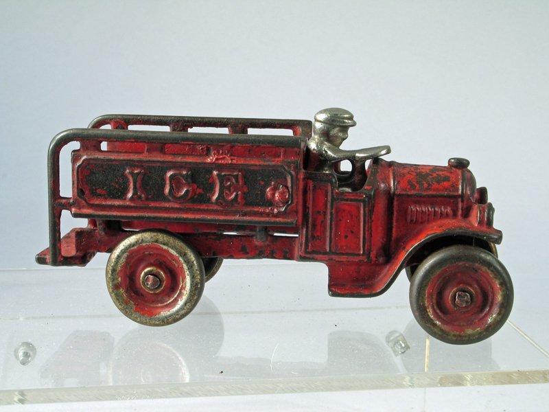 Hubley Cast Iron Ice Truck - 2