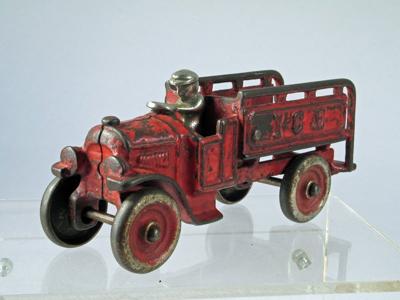 Hubley Cast Iron Ice Truck - 3
