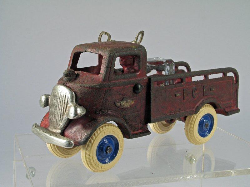 Arcade Ice Truck Cast Iron - 3