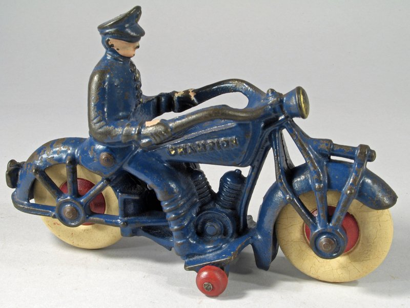 Champion Cast Iron Motorcycle Large