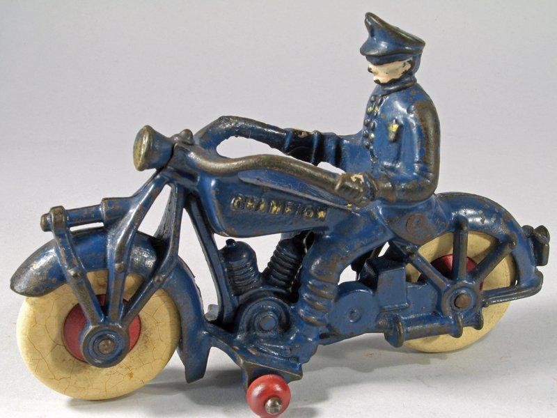 Champion Cast Iron Motorcycle Large - 2
