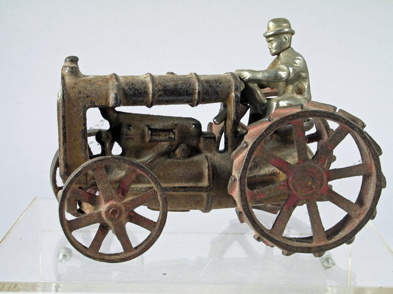 Hubley Cast Iron Tractor
