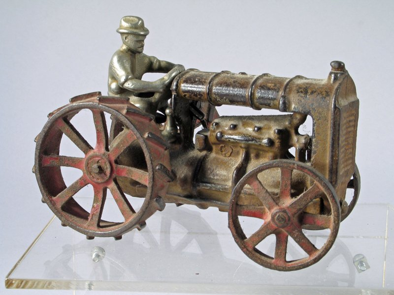 Hubley Cast Iron Tractor - 2