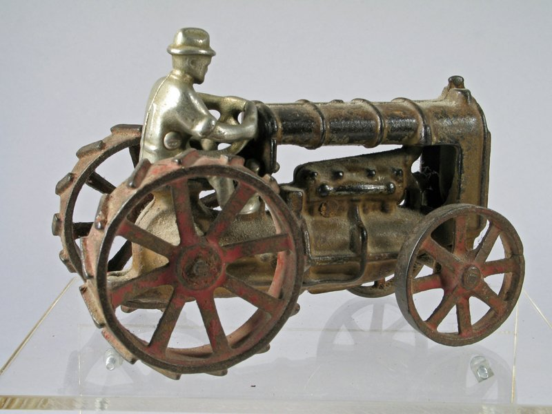 Hubley Cast Iron Tractor - 3