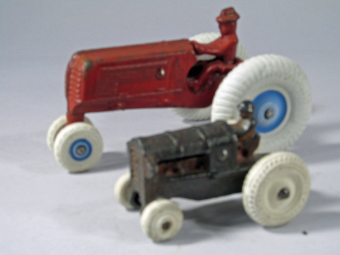 Arcade Cast Iron Tractor Lot