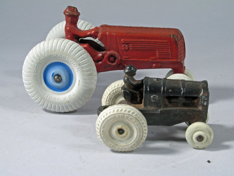 Arcade Cast Iron Tractor Lot - 2