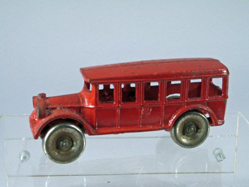 Arcade Cast Iron Fageol Bus