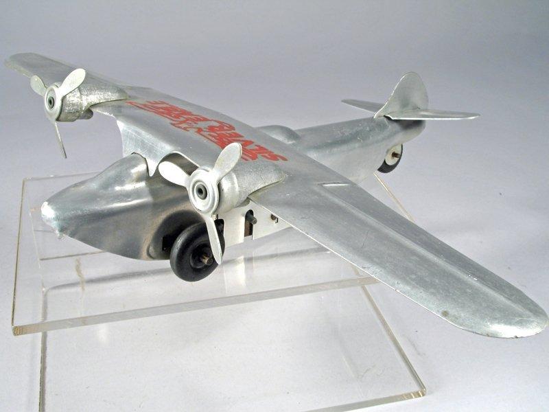 Ferdinand Strauss Silver Eagle Airplane