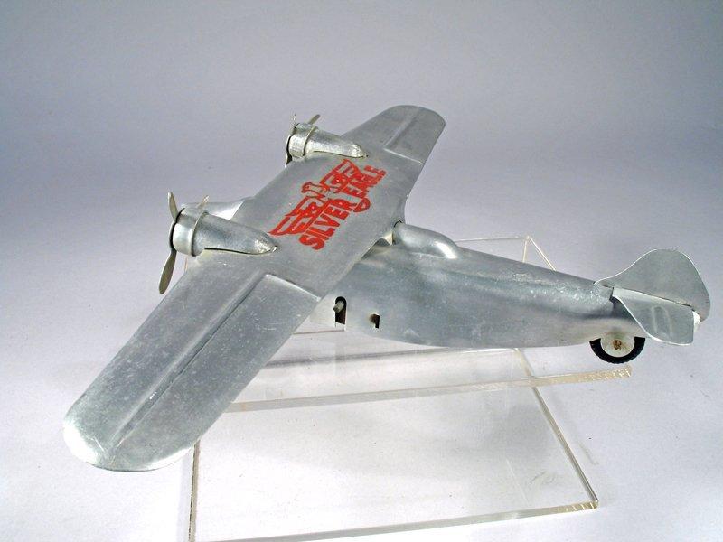 Ferdinand Strauss Silver Eagle Airplane - 2