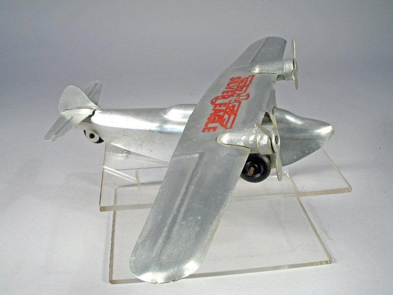Ferdinand Strauss Silver Eagle Airplane - 3