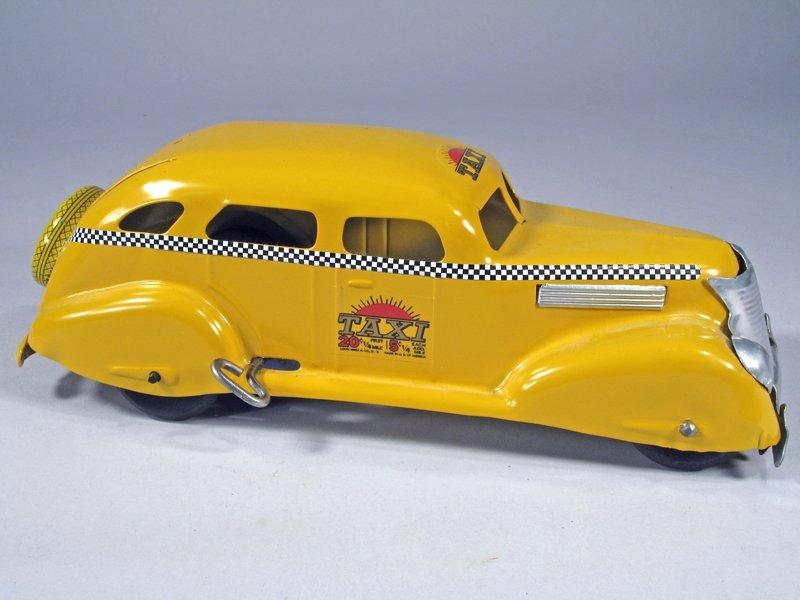 Wyandotte Yellow Cab Pressed Steel - 2