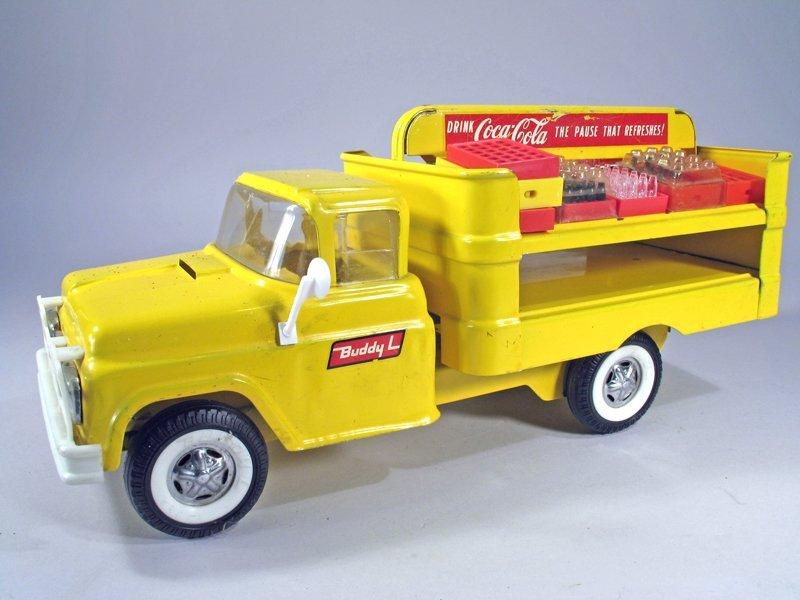 Buddy L Coke Truck Pressed Steel
