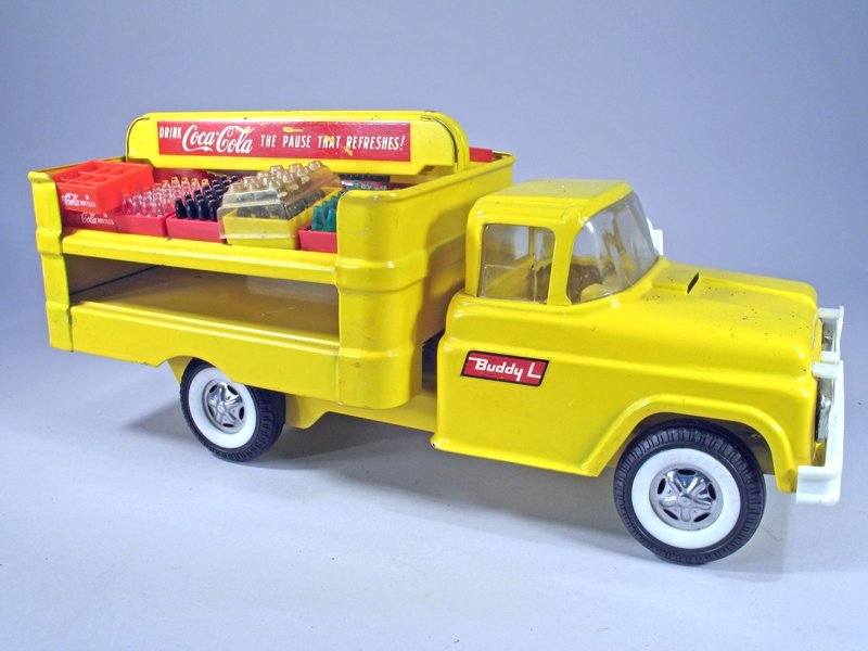 Buddy L Coke Truck Pressed Steel - 2